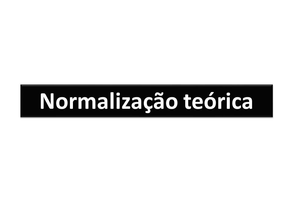Normalização teórica