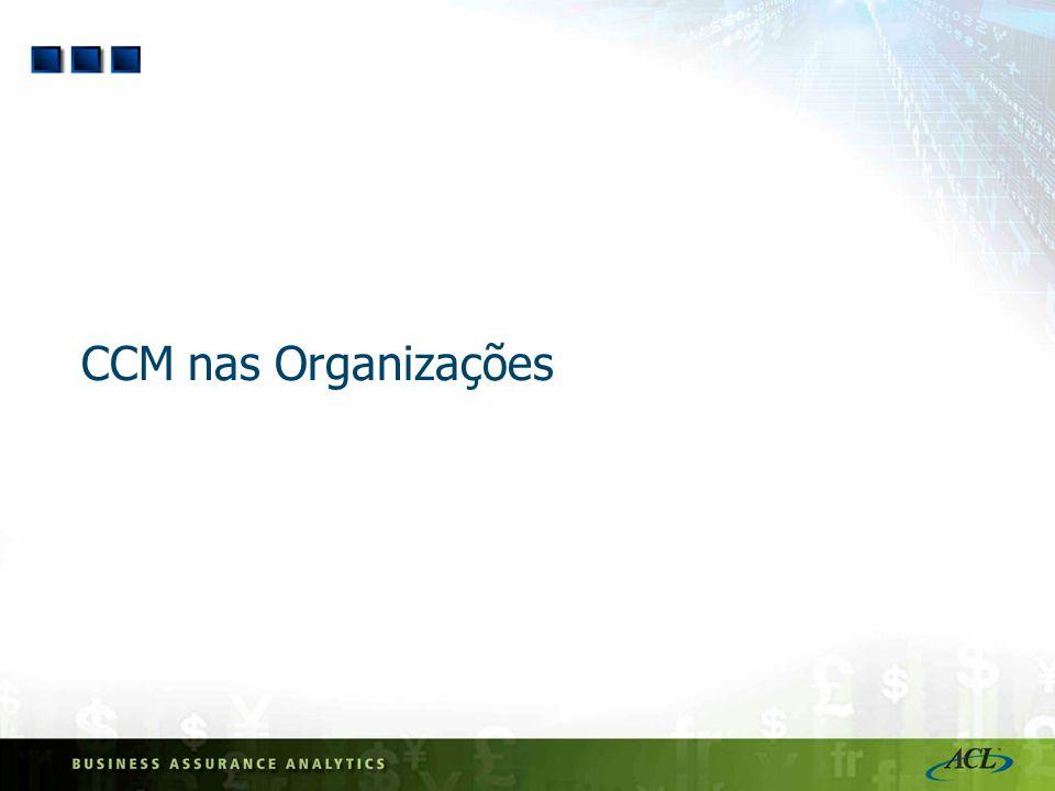 CCM nas Organizações