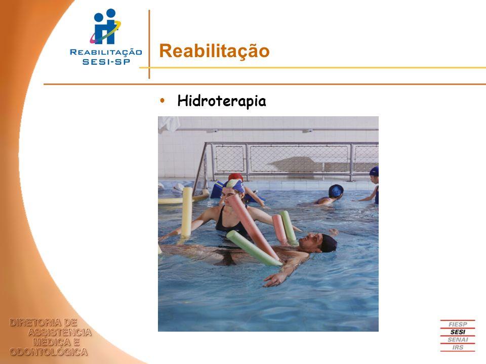 Hidroterapia Reabilitação
