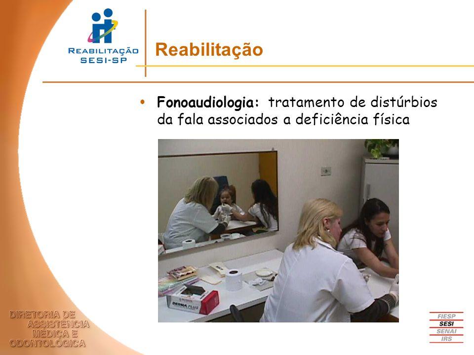 Fonoaudiologia: tratamento de distúrbios da fala associados a deficiência física Reabilitação