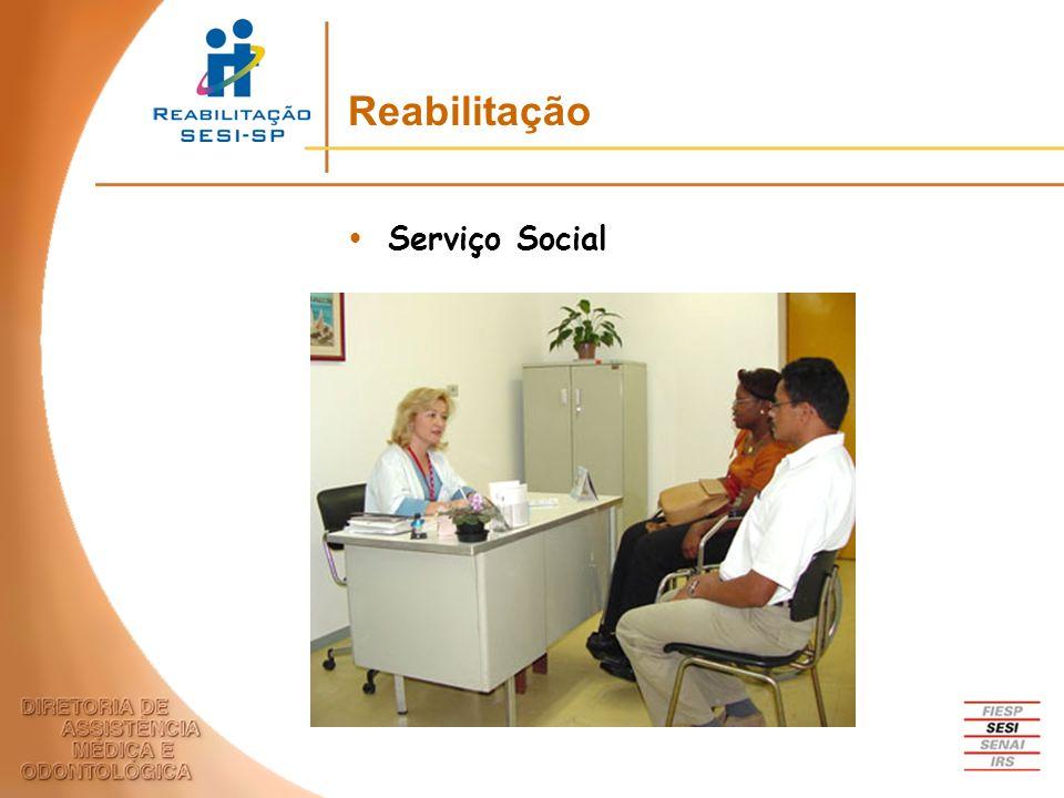 Serviço Social Reabilitação