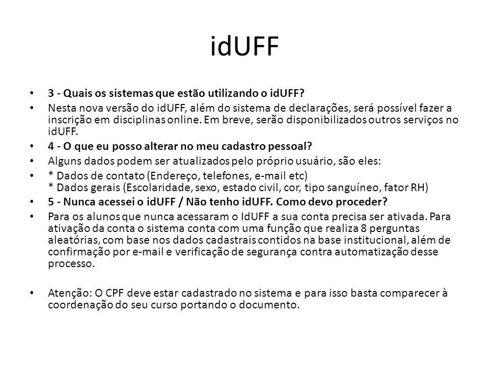 1. Acesse www.uff.br 2. Clique no local indicadowww.uff.br