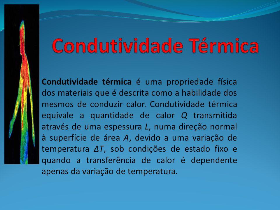 Condutividade térmica é uma propriedade física dos materiais que é descrita como a habilidade dos mesmos de conduzir calor. Condutividade térmica equi
