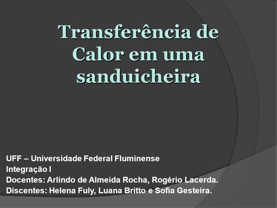 UFF – Universidade Federal Fluminense Integração I Docentes: Arlindo de Almeida Rocha, Rogério Lacerda. Discentes: Helena Fuly, Luana Britto e Sofia G