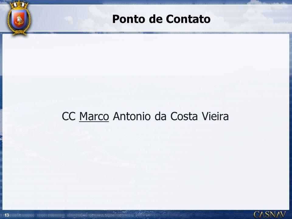 13 Ponto de Contato CC Marco Antonio da Costa Vieira
