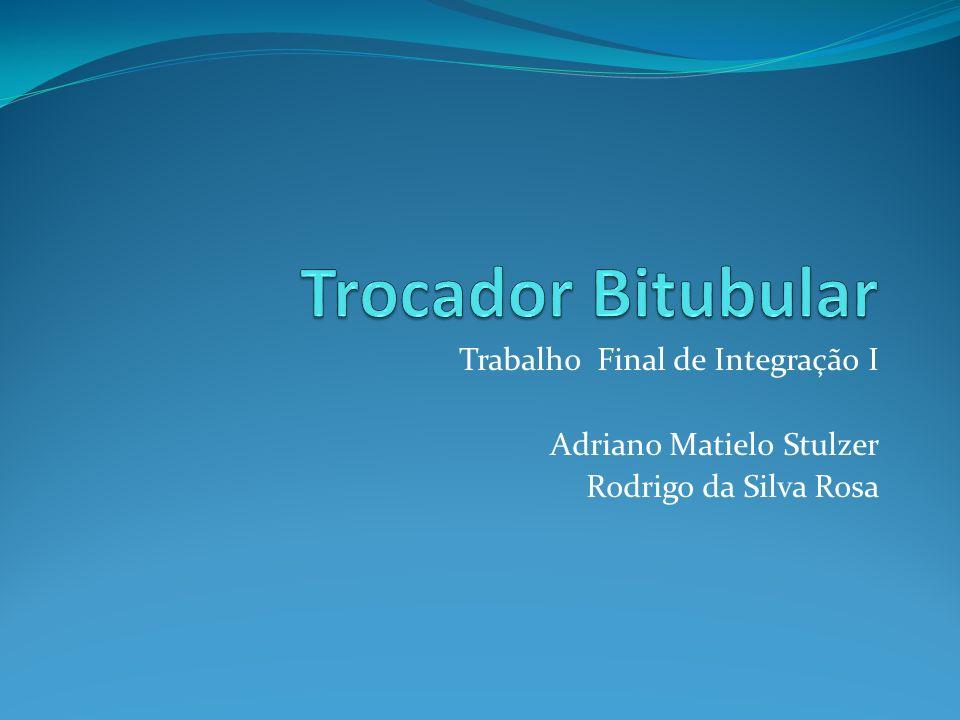 Trabalho Final de Integração I Adriano Matielo Stulzer Rodrigo da Silva Rosa