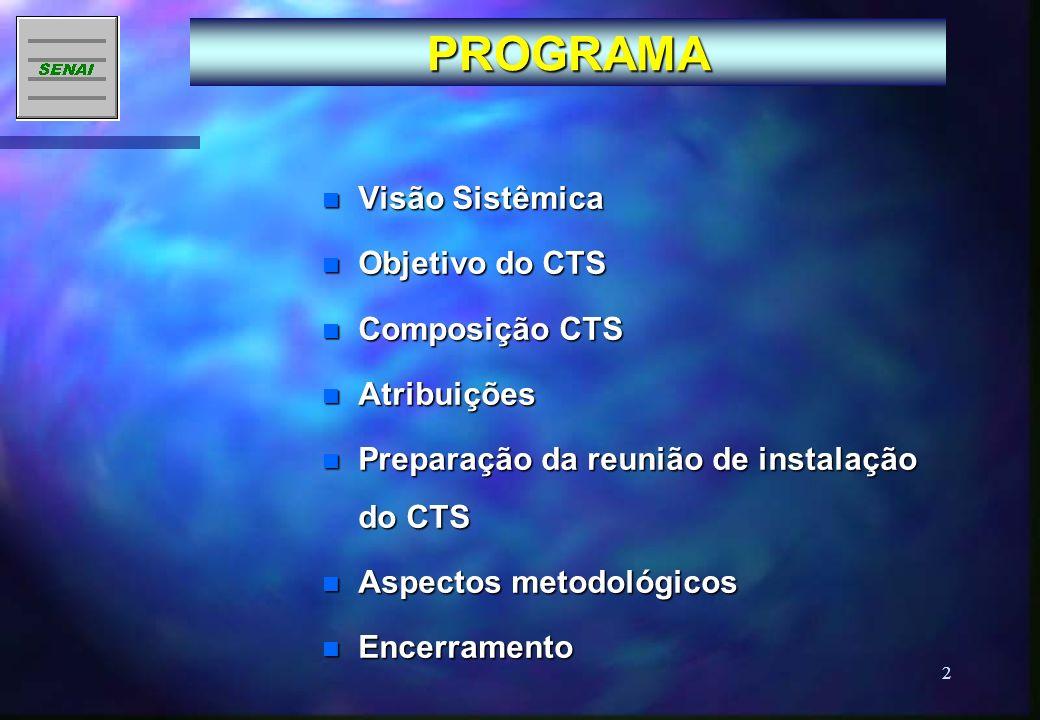 1 COMITÊ TÉCNICO SETORIAL 17 de junho de 2003