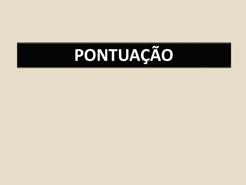 PONTUAÇÃO