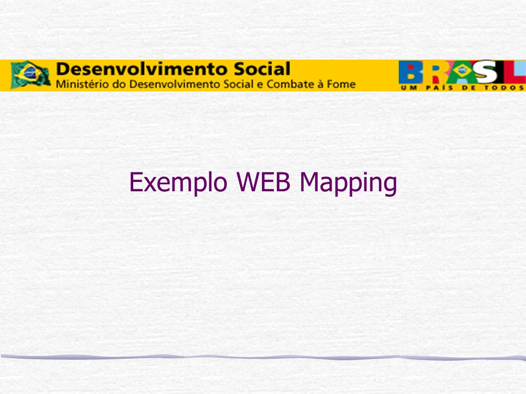Exemplo WEB Mapping