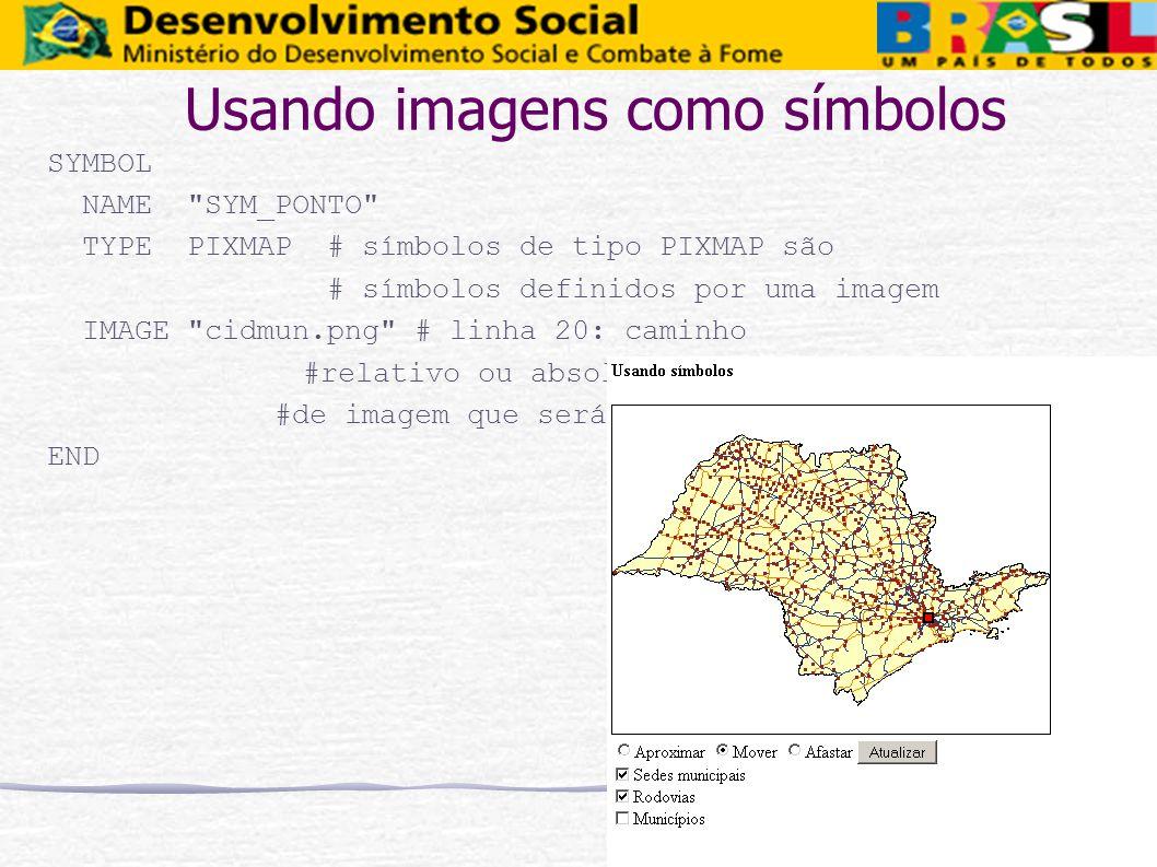 Usando imagens como símbolos SYMBOL NAME