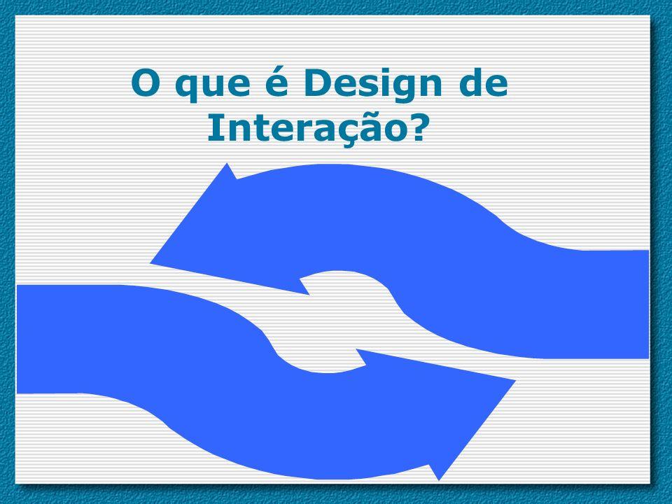 Relação entre DI, IHM e outros campos Campos interdisciplinares (IHM, trabalho cooperativo suportado por computador) Práticas de design (design gráfico) Disciplinas acadêmicas (ciência da computação, psicologia) Design da Interação