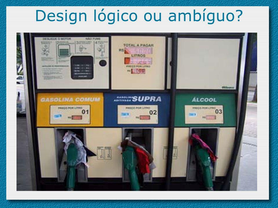 Design lógico ou ambíguo?