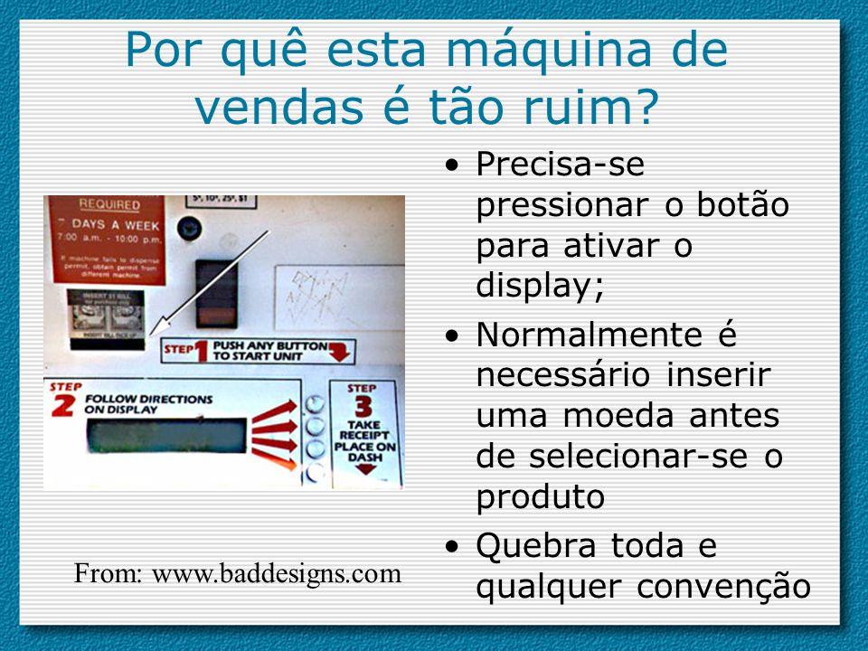 –Affordance virtual Quais dos seguintes objetos tem affordance.