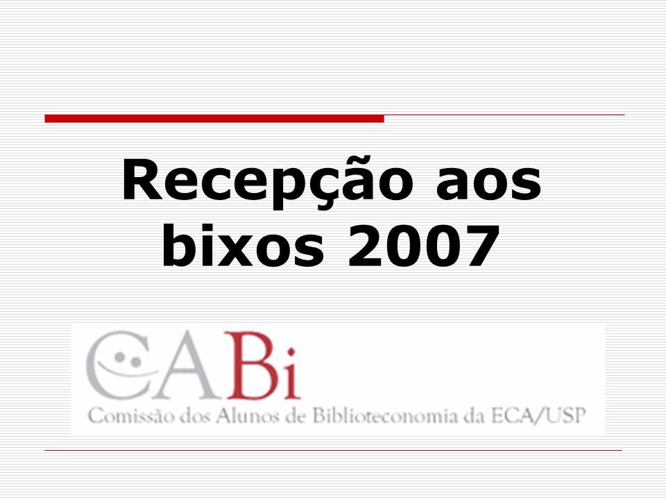 A CABi A CABi - Comissão de Alunos de Biblioteconomia começou a se formar nos corredores do CBD em setembro de 1996.