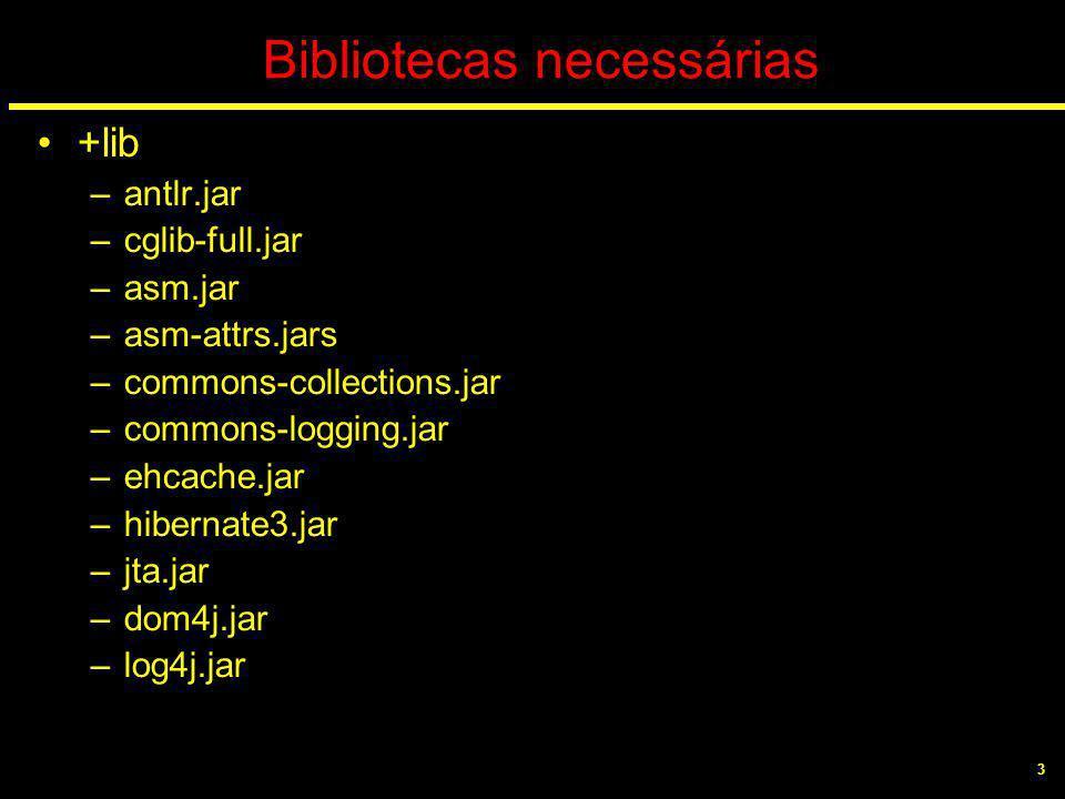 4 Bibliotecas necessárias Extrair o pacote e colocar todas as bibliotecas necessárias que se encontram em /lib para a pasta /lib da pasta de desenvolvimento.