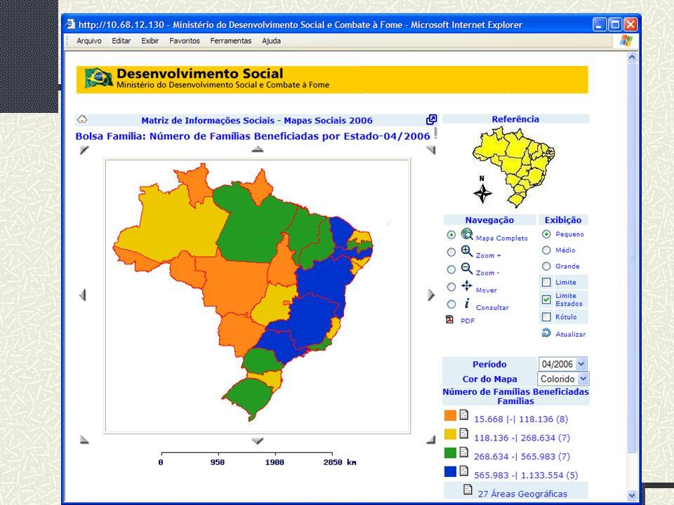 MDS/ Diretoria de Gestão da Informação/Coordenação de Recursos Informacionais 21