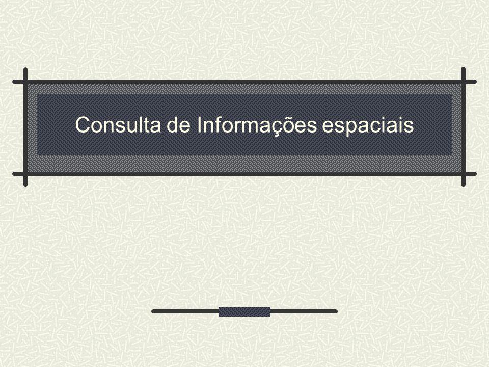 Consulta de Informações espaciais
