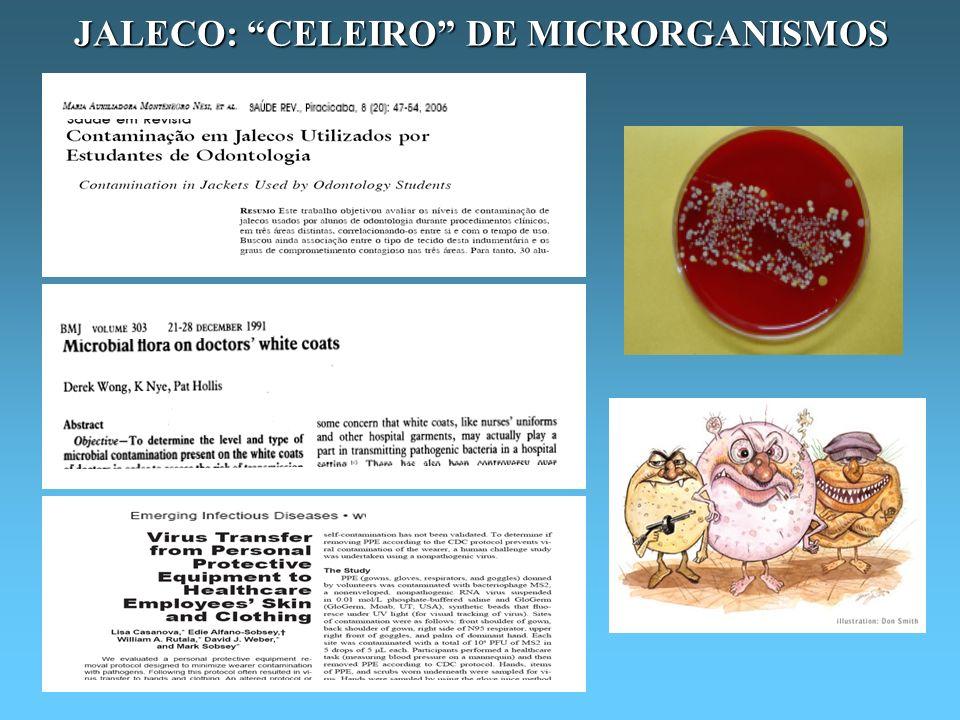 JALECO: CELEIRO DE MICRORGANISMOS