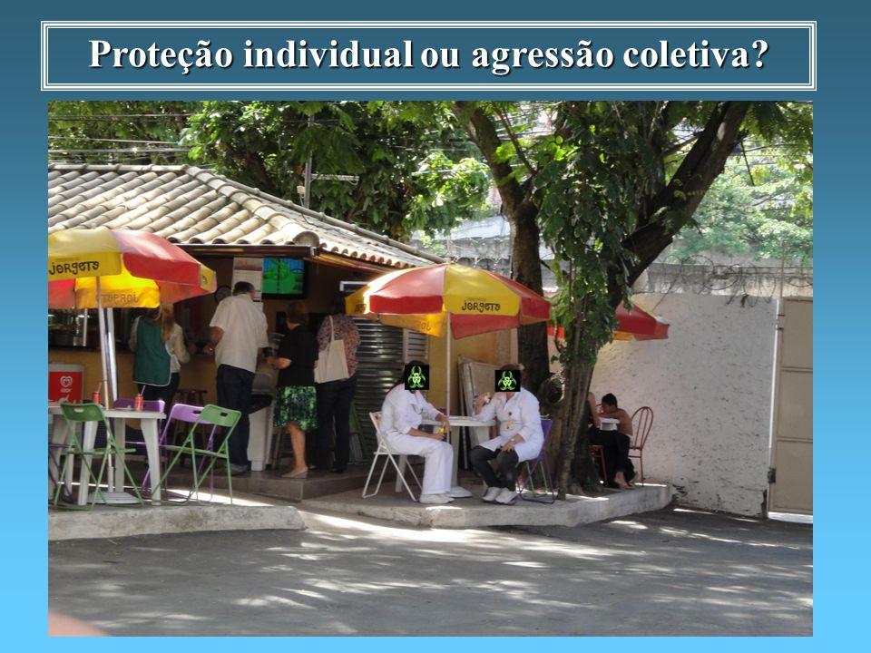 Proteção individual ou agressão coletiva?