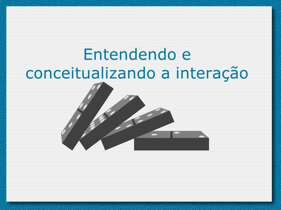Entendendo e conceitualizando a interação