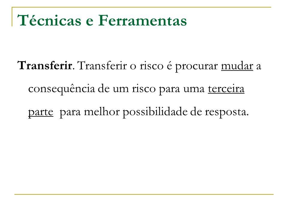 Técnicas e Ferramentas Transferir.