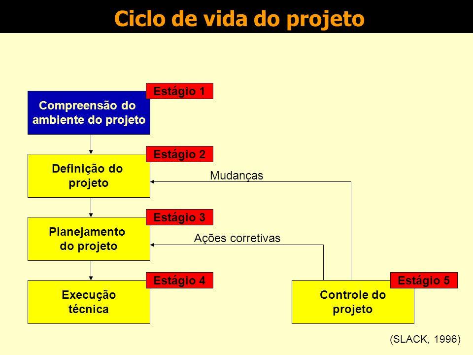 Compreensão do ambiente e definição do projeto Gestão de Projetos Prof.