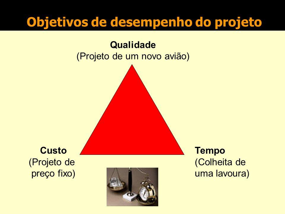 Ciclo de vida do projeto Compreensão do ambiente do projeto Estágio 1 Controle do projeto Ações corretivas Mudanças internas ou externas Estágio 5 Def