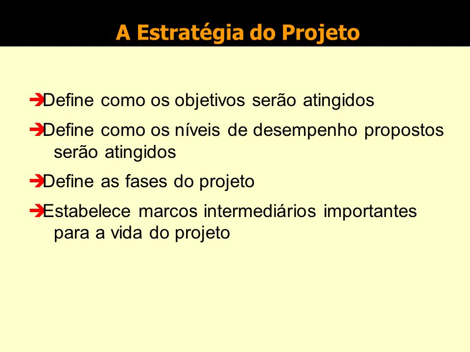 Objetivos do Projeto O problema da ancoragem...