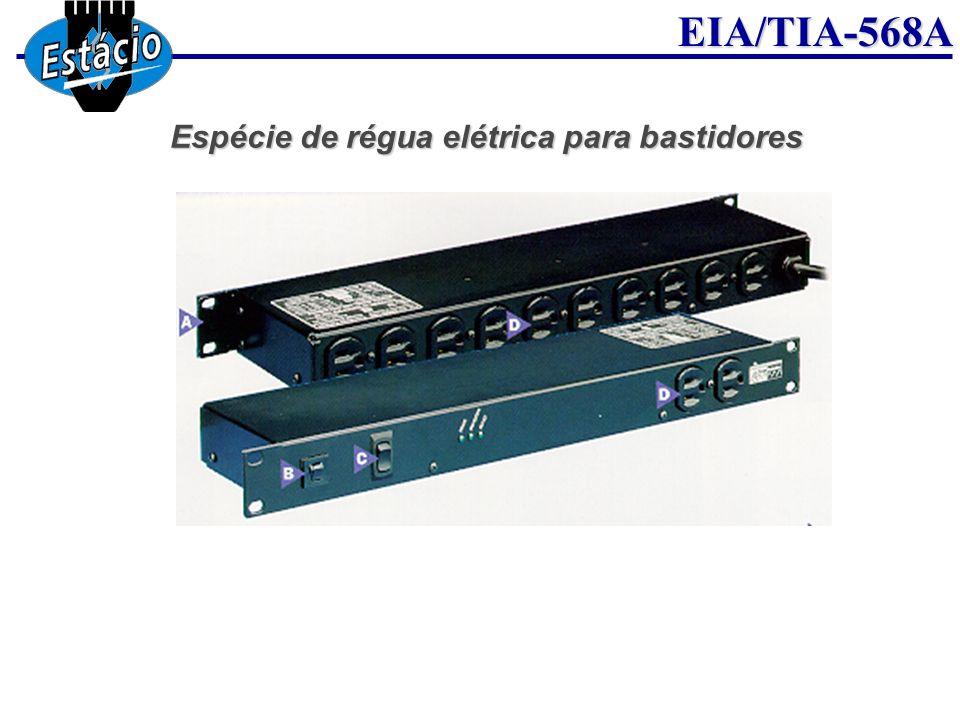 EIA/TIA-568A Espécie de régua elétrica para bastidores