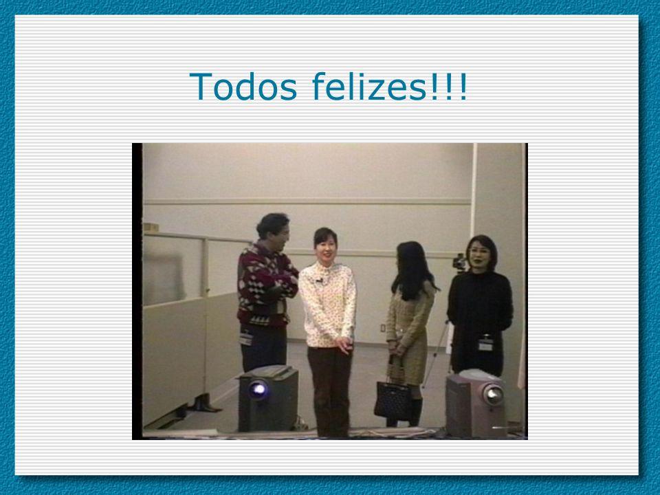 Todos felizes!!!