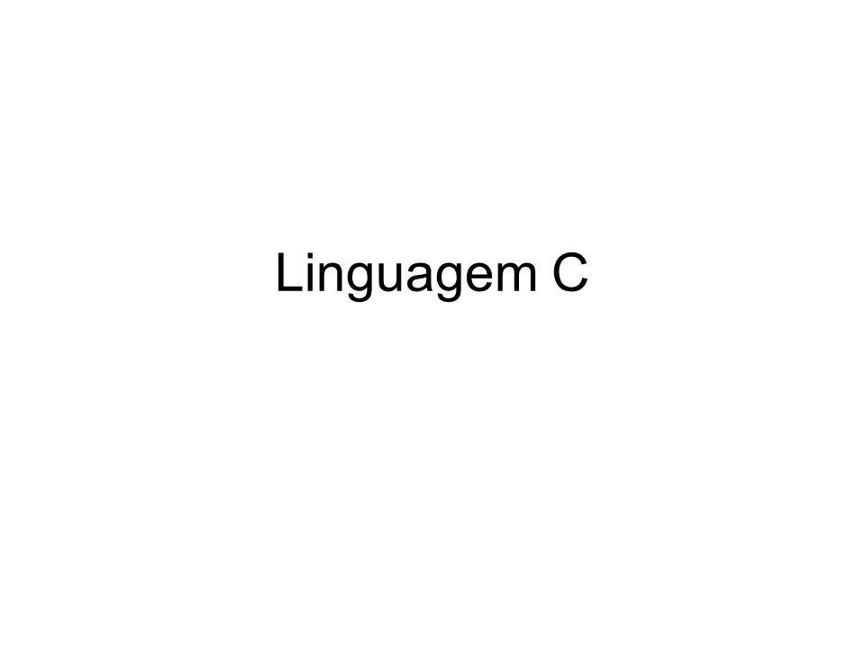Uma linguagem difundida: –Amplamente utilizada...–Uma linguagem veterana...