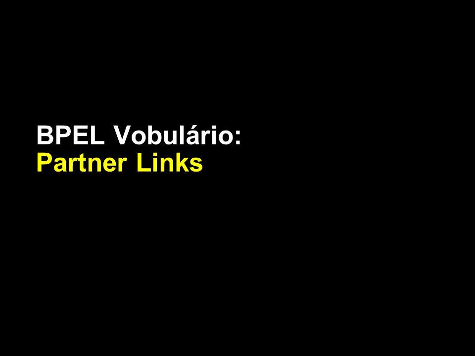 BPEL Vobulário: Partner Links