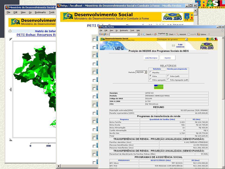 12/dez/2005 MDS/ Diretoria de Gestão da Informação/Coordenação de Recursos Informacionais 50