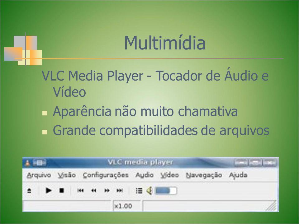 Multimídia VLC Media Player - Tocador de Áudio e Vídeo Aparência não muito chamativa Grande compatibilidades de arquivos