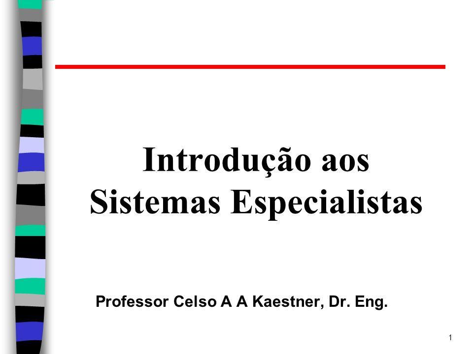 2 Sistemas Especialistas Um Sistema Especialista (SE) é um programa de computador que utiliza conhecimento específico do domínio de um problema e emula a metodologia e desempenho de um especialista para obter soluções de problemas neste domínio.