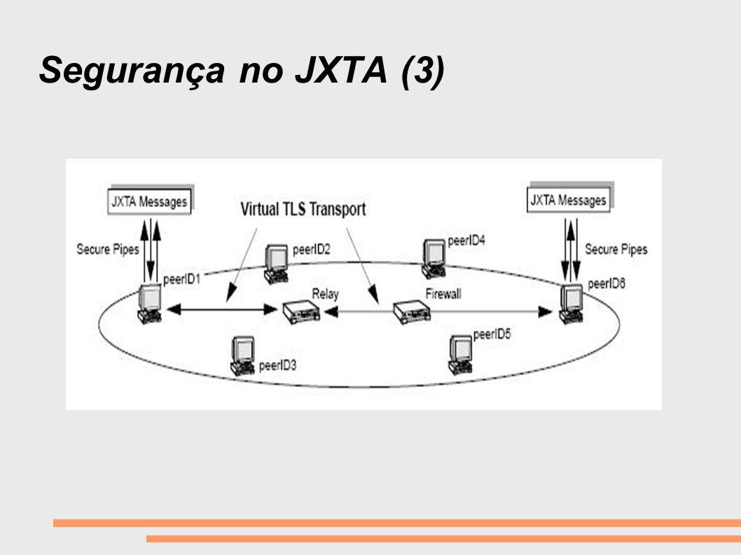 Segurança no JXTA (3)