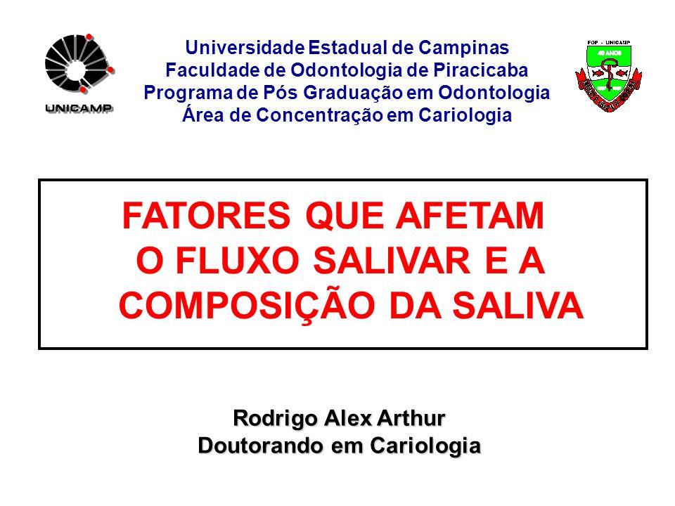 Universidade Estadual de Campinas Faculdade de Odontologia de Piracicaba Programa de Pós Graduação em Odontologia Área de Concentração em Cariologia F