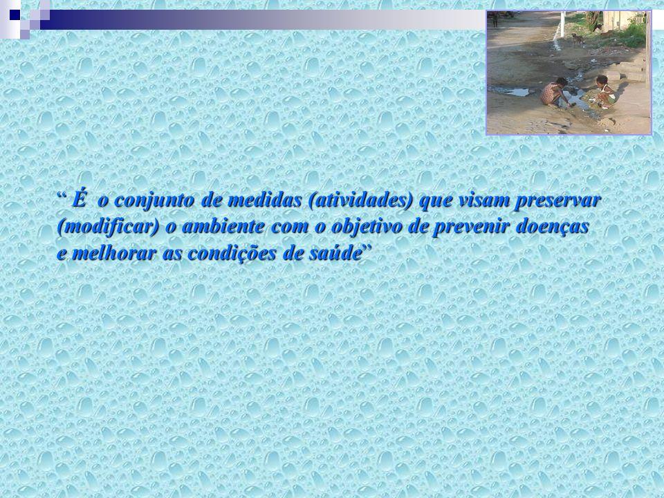 Qualidade A água deve estar livre de microorganismos patogênicos que causam problemas à saúde.