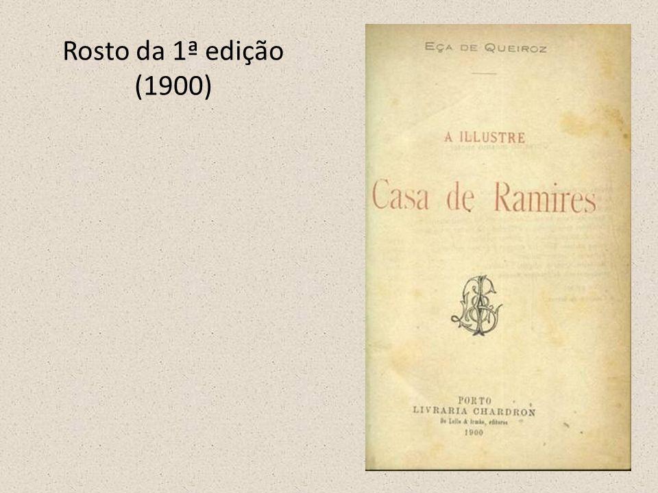 Rosto da 1ª edição (1900)