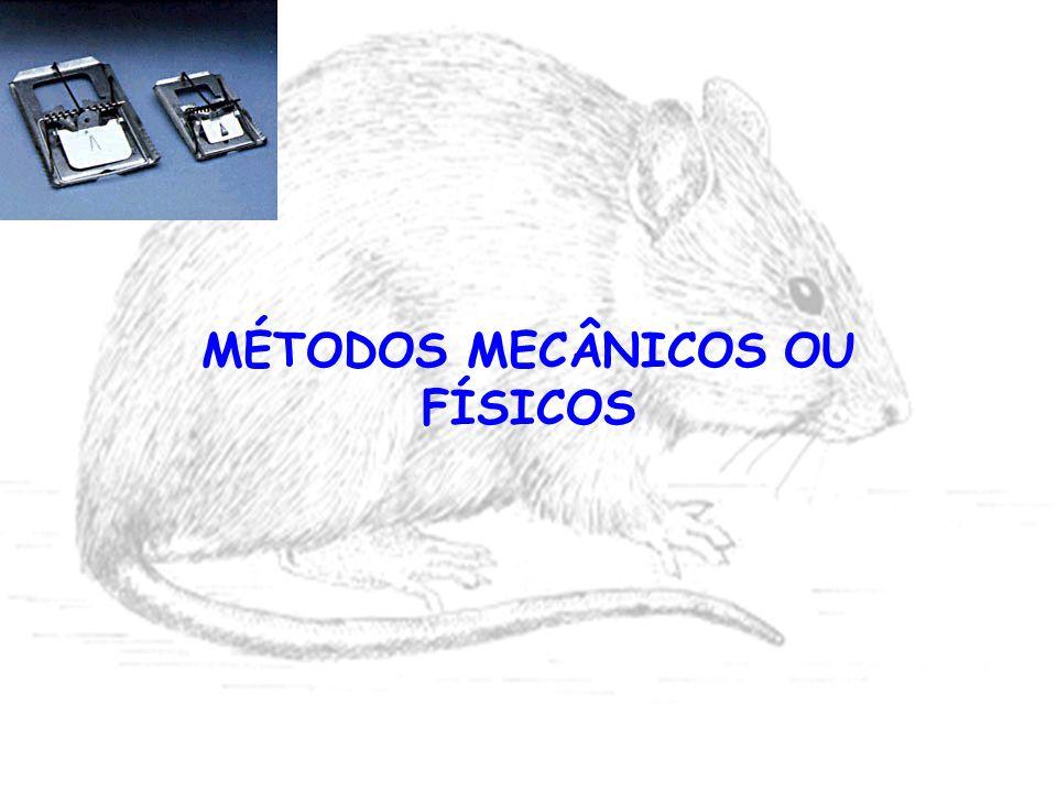 MÉTODOS MECÂNICOS OU FÍSICOS