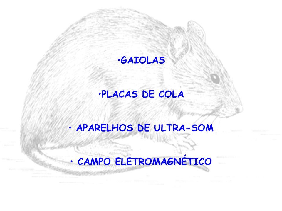 GAIOLAS PLACAS DE COLA APARELHOS DE ULTRA-SOM CAMPO ELETROMAGNÉTICO
