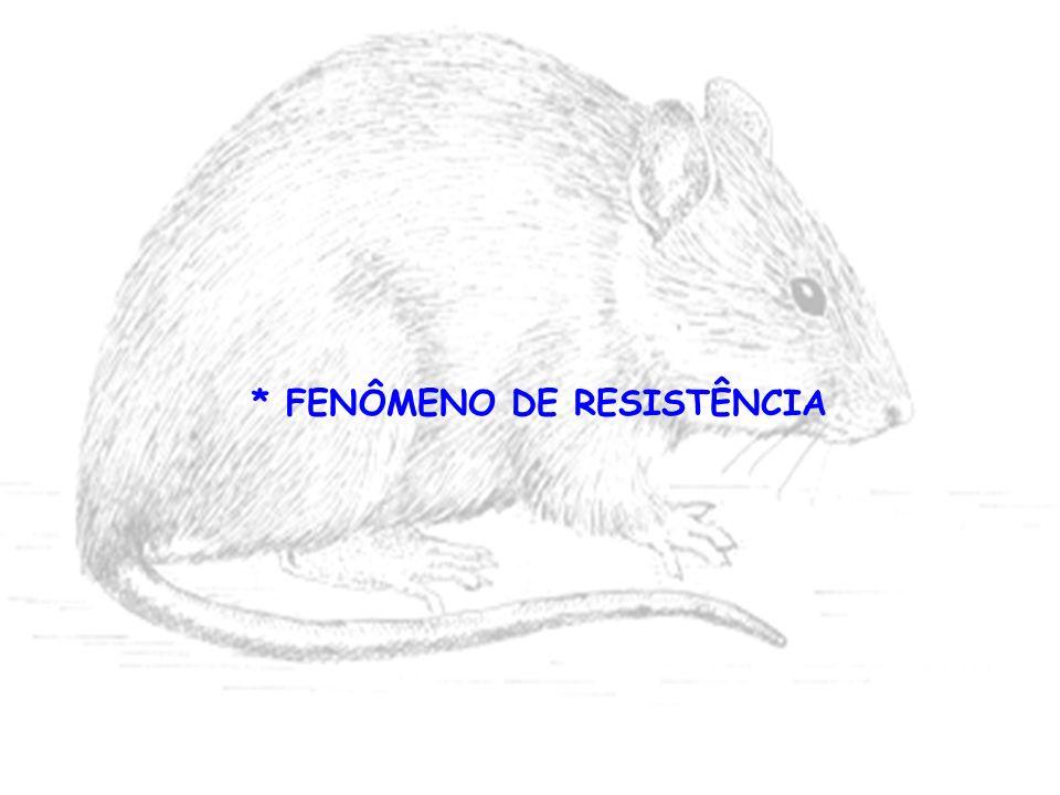 * FENÔMENO DE RESISTÊNCIA