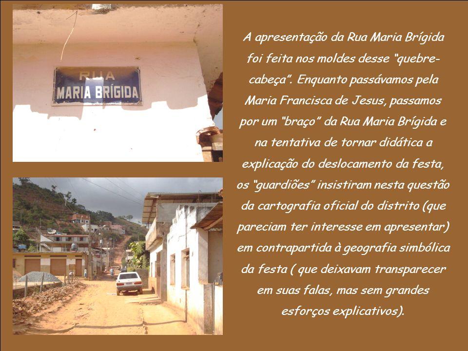 A apresentação da Rua Maria Brígida foi feita nos moldes desse quebre- cabeça.