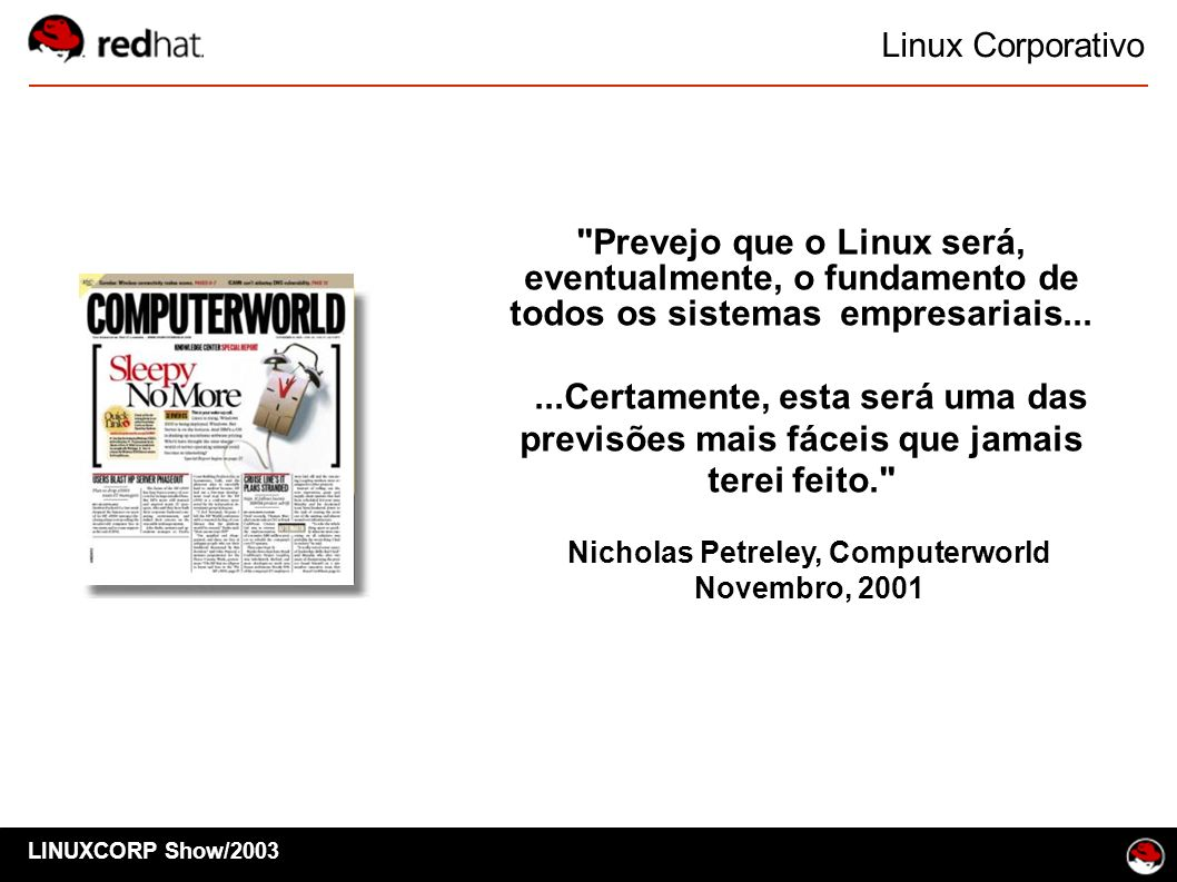 LINUXCORP Show/2003