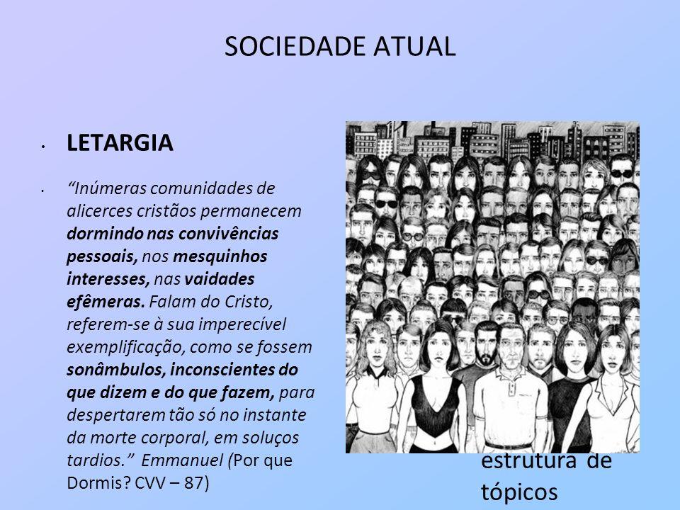 SOCIEDADE ATUAL Joanna de Angelis – Autodescobrimento - Amadurecimento psicológico exige contínua atividade moral e cuidadosa realização pessoal.