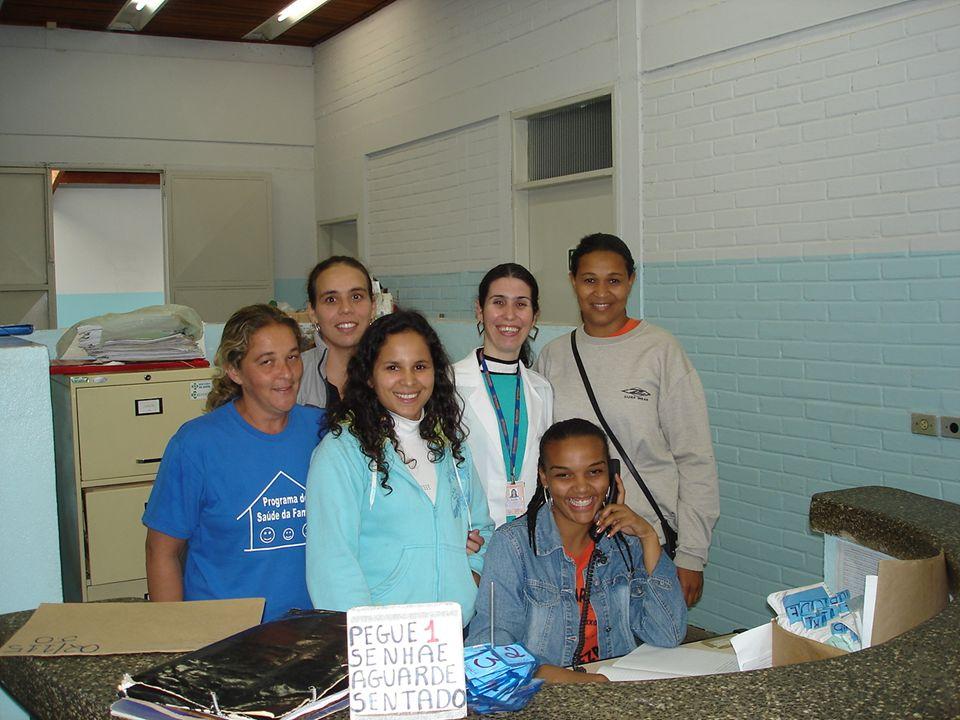 Agentes Comunitárias Sara Aparecida Cléia Angelita Rocirres Sheila Lucia Cristina Todas cursaram para agente comunitária de saúde e possuíam o segundo