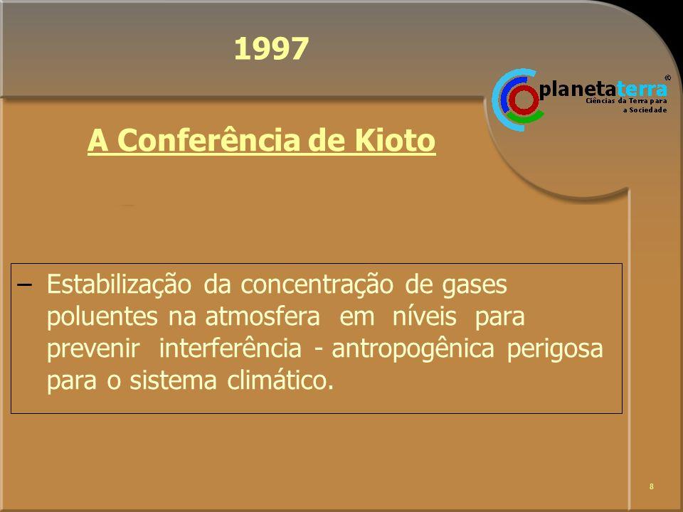 9 2002 –Revisão do Progresso da Agenda 21 –Ratificação e Implementação de Convenções e Acordos Internacionais sobre Meio Ambiente A Cúpula de Joannesburgo