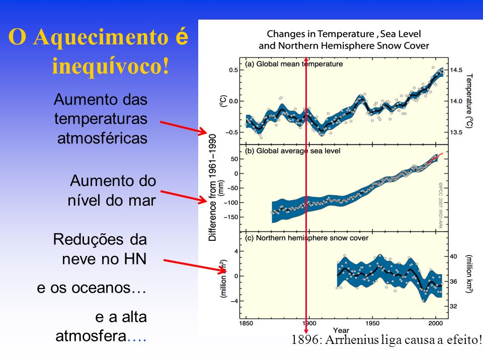 Limites Climáticos Perigosos 0,6 CBranqueamento de corais 0,6 CPerda de gelo da Antártica Ocidental 0,7 CDesaparecimento da geleira do Kilimanjaro 1,0 C Desaparecimento das geleiras dos Andes tropicais 1,6 CInício do derretimento da geleira da Groelândia 3-4 CColapso da floresta Amazônica 4 CColapso da corrente termohalina –Fonte: Exeter Conference, 2005 e Nobre et al., 2007.
