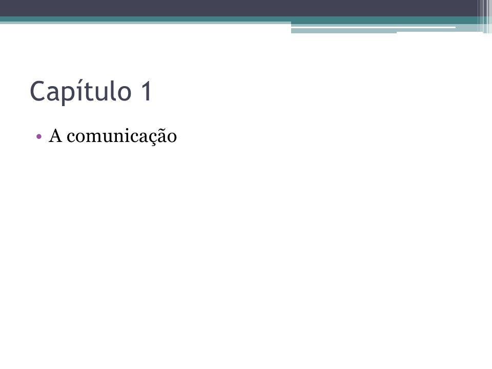 1- Produza um texto destacando a importância da comunicação em sua vida