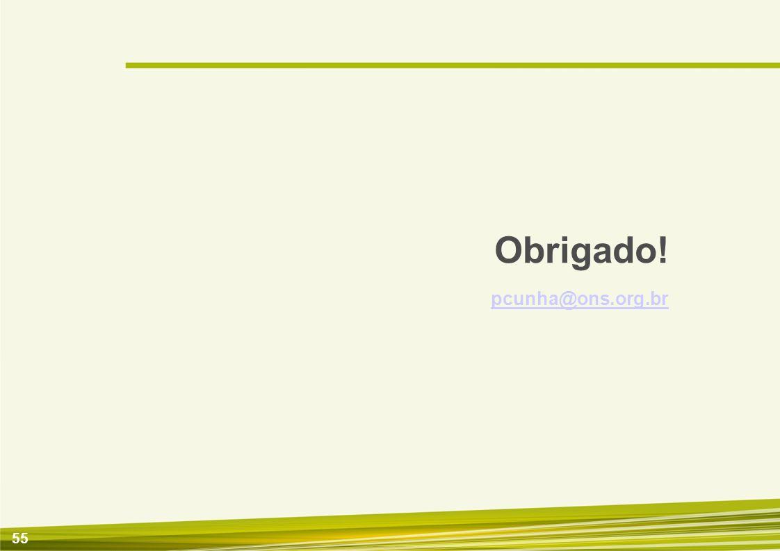 56 Classificação do Estado Operativo: LIG - Ligado como gerador.